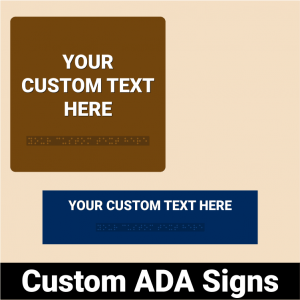 Custom ADA Signs